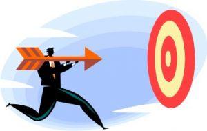 Фокусировка на цели (картинка)