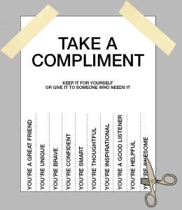 Говорите клиентам комплименты (картинка)